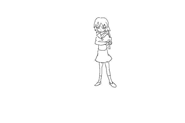 【GIFアニメ】抜刀殺陣