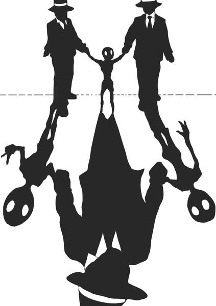 連行される宇宙人 丸八 さんのイラスト ニコニコ静画 イラスト