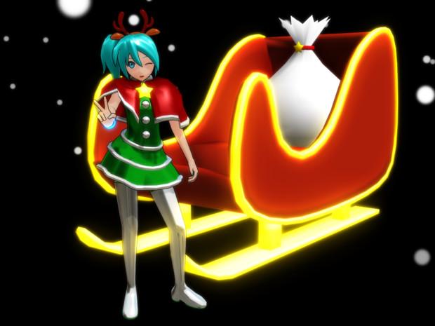 星ふるミクのクリスマスコス