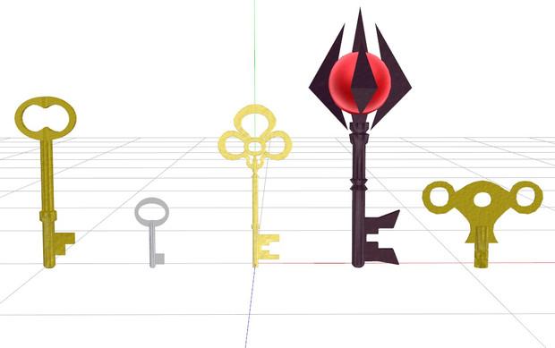 【配布】何かの鍵