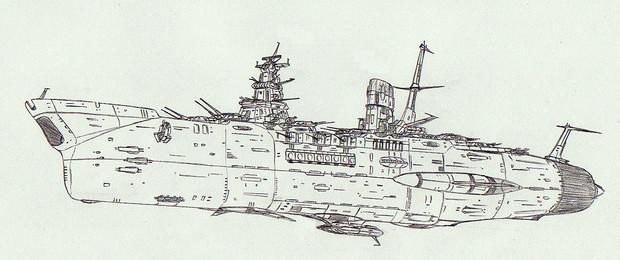 宇宙戦艦ヤマシロ「自作艦」