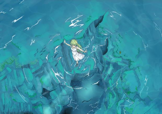 透き通った水面の上を自由に歩けたら