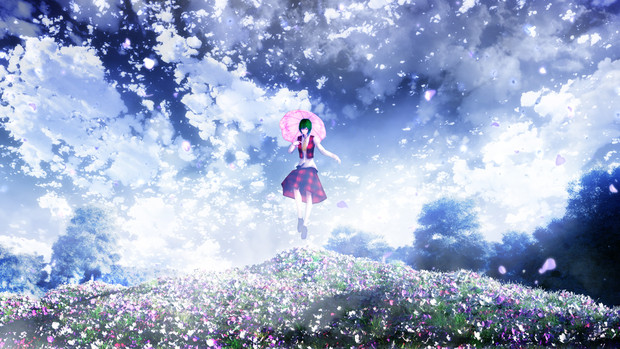 東方二次創作「空の約束」第三話 Image Artworks for 風見幽香