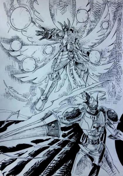 聖騎士と大天使