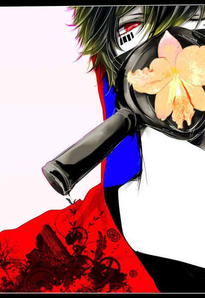 ガスマスク系男子 ぶくぶく さんのイラスト ニコニコ静画 イラスト