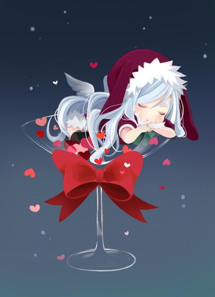 寝クリスマス