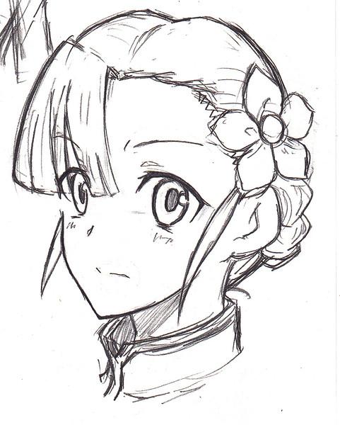 姫様キリッ