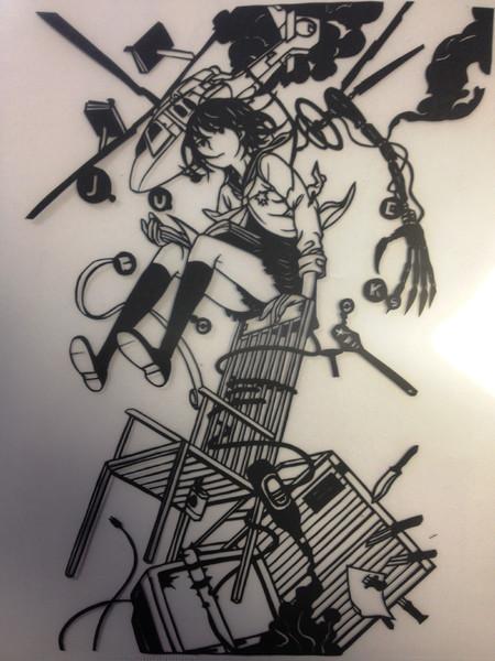 Juke Booksの表紙 切ってみた 鍋ナベ さんのイラスト ニコニコ静画