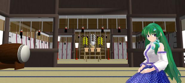守矢神社 version1.1