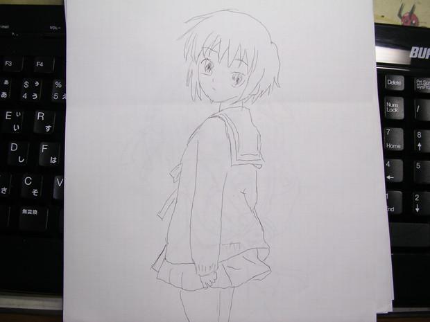 """【手書き】 長門有希 """"Yuki Nagato"""""""
