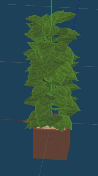 【3Dモデル】観葉植物【配布有り】