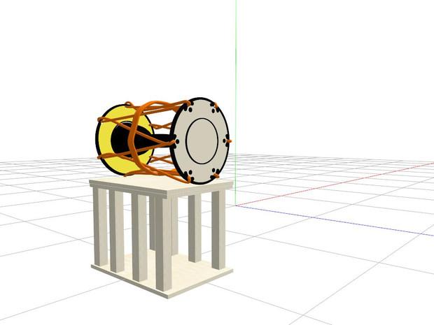小鼓用 置き台