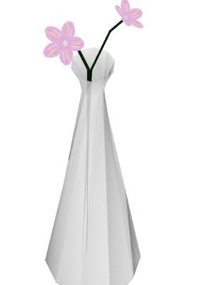 【3Dモデル】花瓶【配布有り】