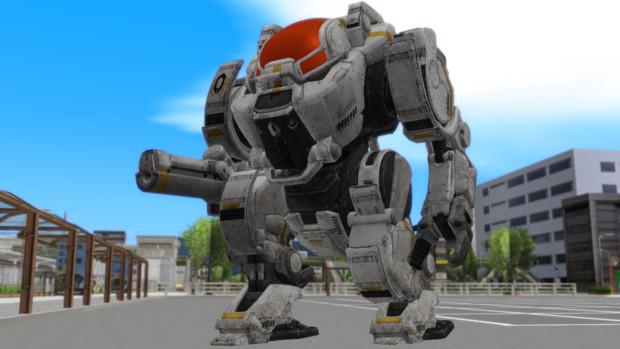 ロボットモデルが来ていたので