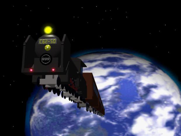 昔々作ったCG 「銀河鉄道999」