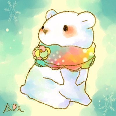 冬シロクマ たま さんのイラスト ニコニコ静画 イラスト