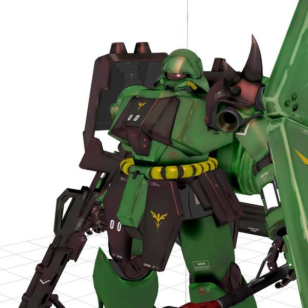 【MMD】AMS-119 ギラ・ドーガ公開