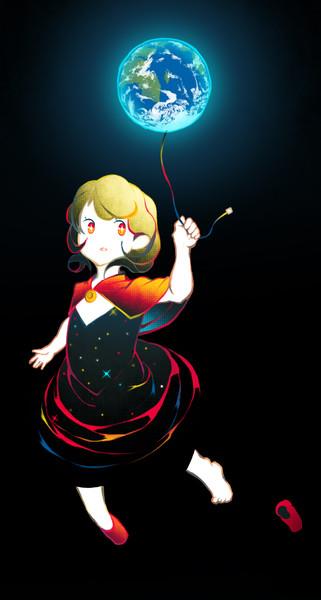 宇宙ドレス