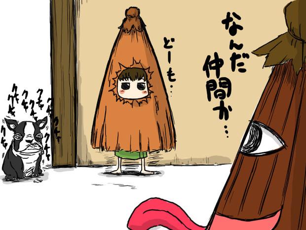 【イラスト】オシチヤ