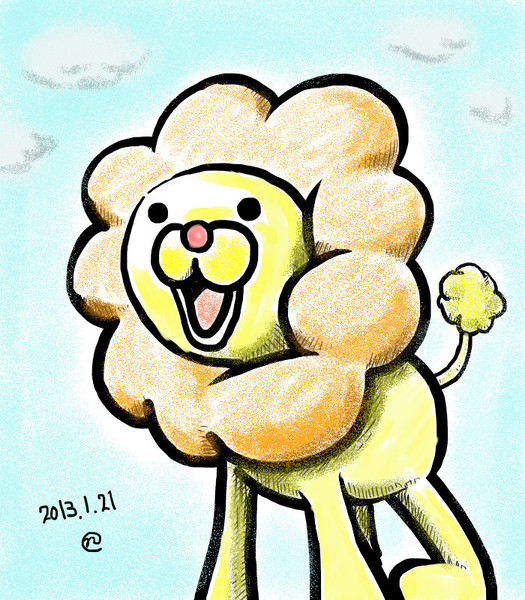 2013121ポンデライオン描いたった Nao さんのイラスト ニコニコ