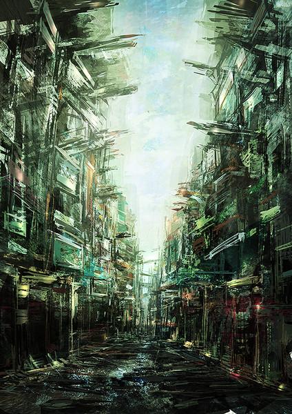 Shopping street