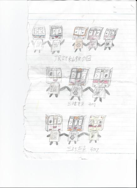 阪神電車・近鉄電車・山陽電車・阪急電車・JR西日本をキャラクター化してみた