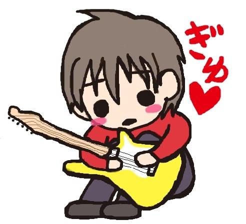 ギターと少年
