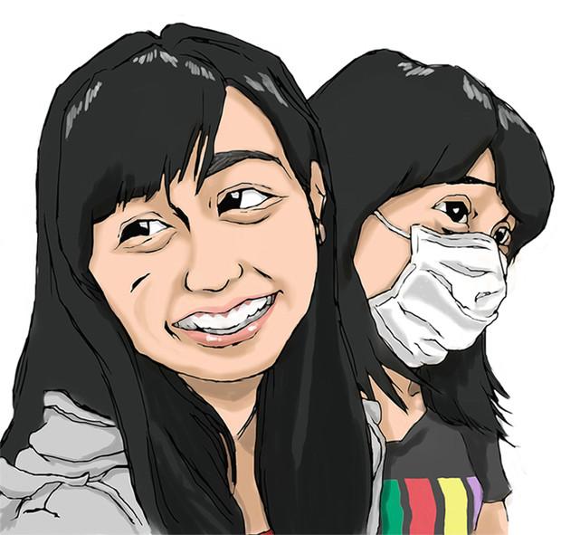 ももクロChan#117 より。百田夏菜子さん&佐々木彩夏さん