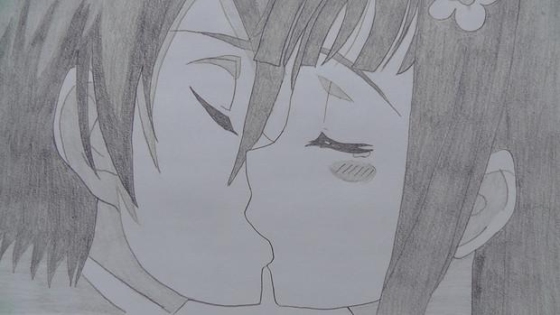 シャーペン 強くてニューゲーム サチ結婚編(SAO)誓いのキス