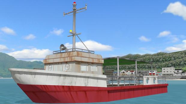 [MMD]渡し船