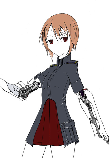 アンドロイド軍少女兵