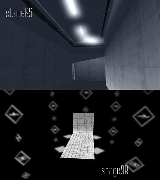 【MMD】ステージ2つ