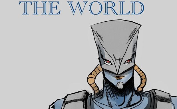 THE WORLD描いてみた
