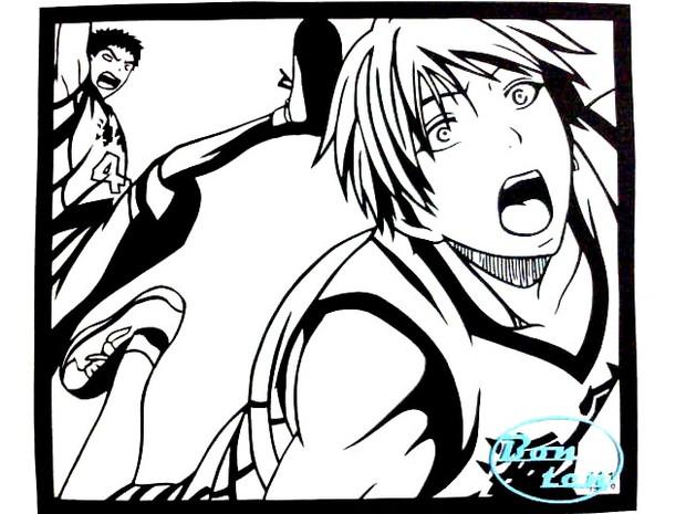 【切り絵】海常【黒子のバスケ】