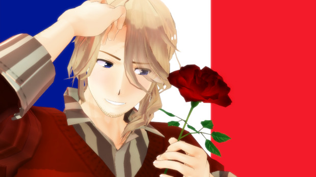 【MMD】roco式フランス
