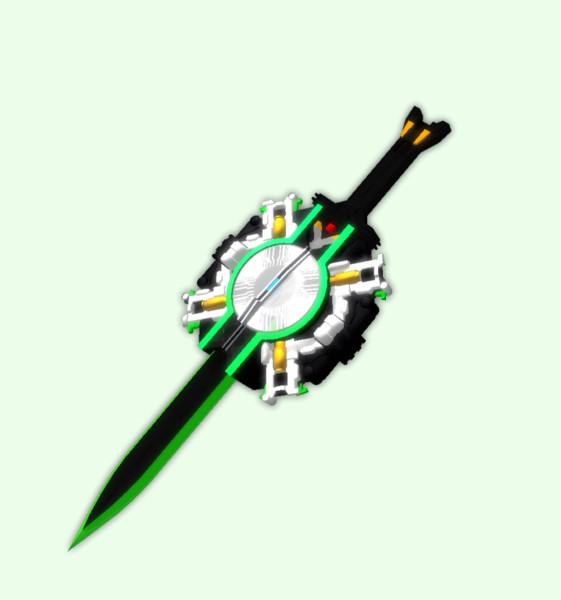 超多色発光剣 プリズムビッカー