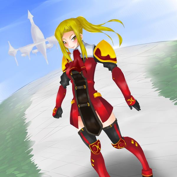 赤魔道士(FF11オリジナル01)