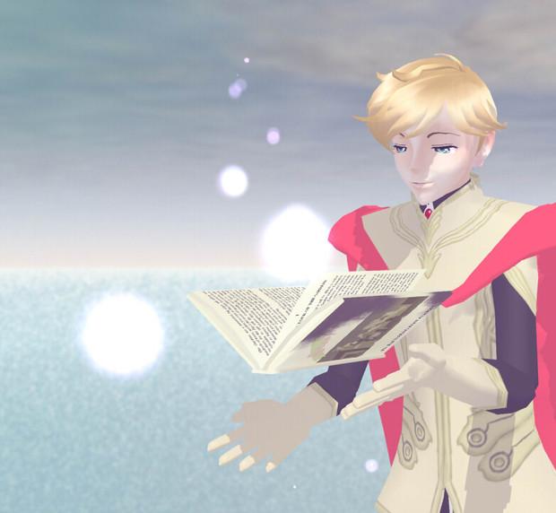 【MMDモデル配布】シロエの本