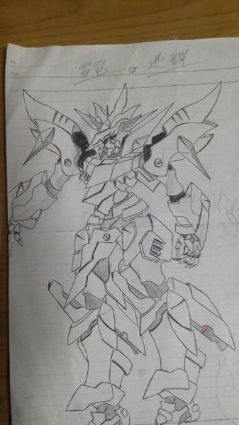 オリジナルMS「雷電or迅輝」
