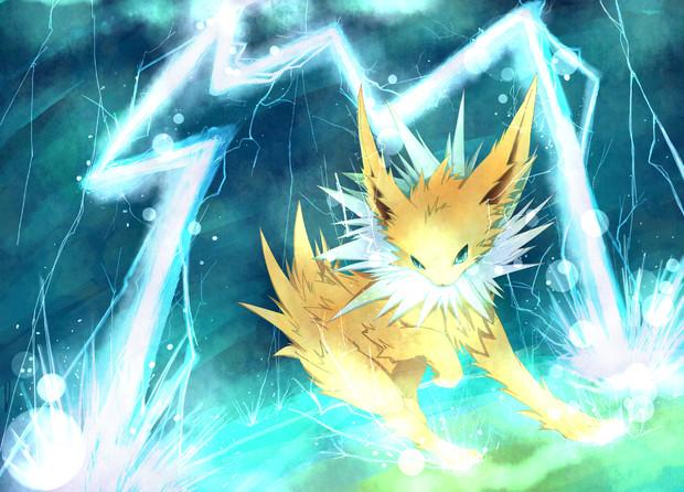 サンダースと蒼い雷