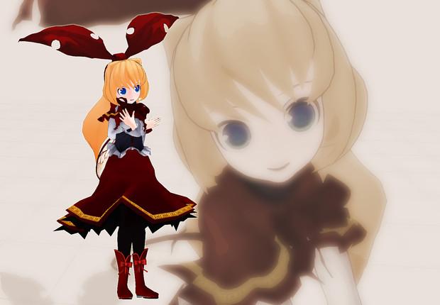 【MMD】しえら式蓬莱人形NR