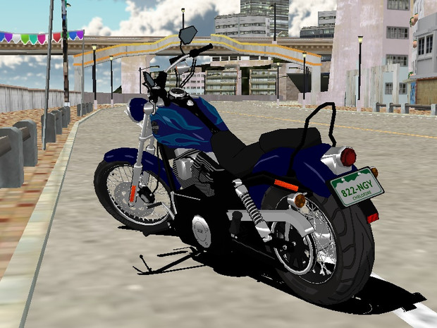 MMD ハーレーダビッドソン FXDWG Wide Glide
