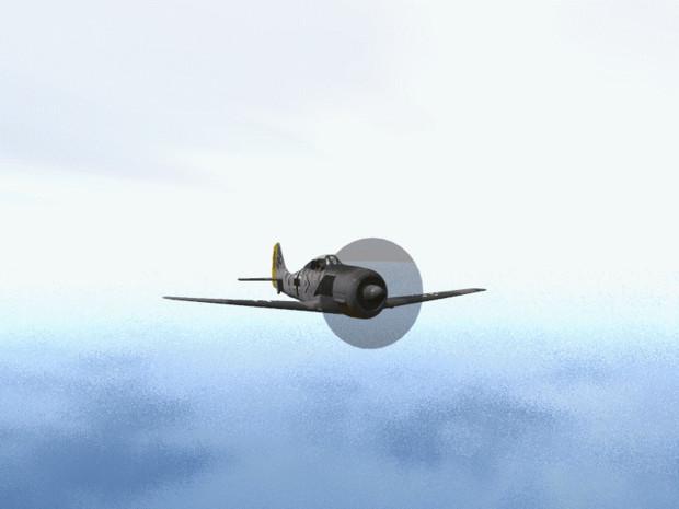 アルカディア号とFW190