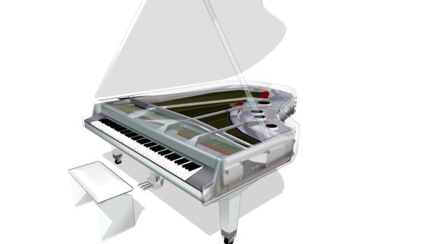 クリスタルピアノ配布