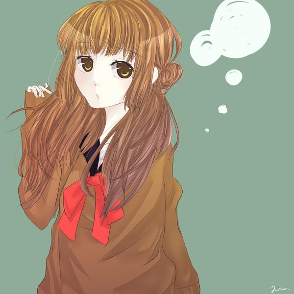 ふわふわな女の子って可愛いと思う 山葵 さんのイラスト ニコニコ