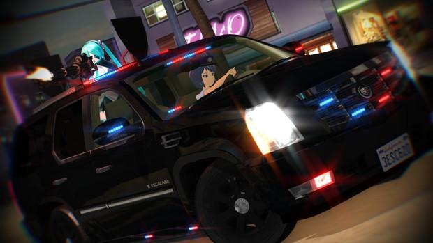 武装SUV
