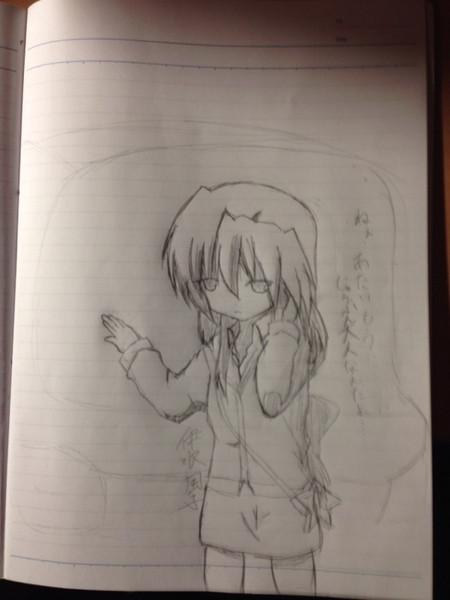 落書き(風子)