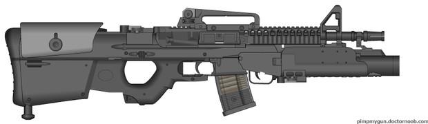最新型M4アサルトライフル