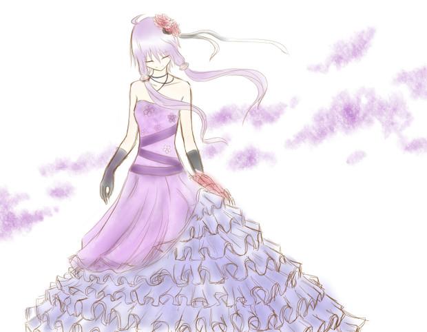 ゆかりさん+ドレス=?