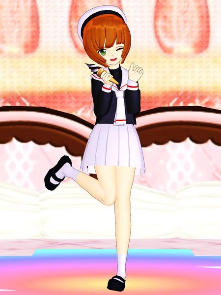 【MMD】猫村いろはさんを改造して木之本桜さんぽくしてみたッ!